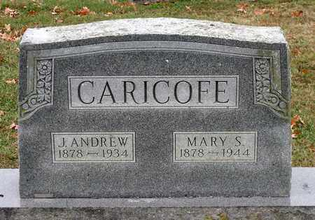 CARICOFE, MARY S. - Rockingham County, Virginia | MARY S. CARICOFE - Virginia Gravestone Photos