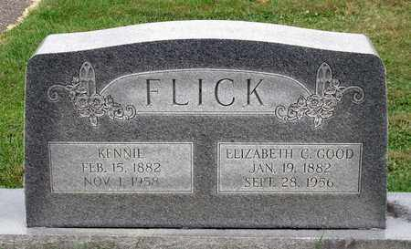 FLICK, KENNIE - Rockingham County, Virginia | KENNIE FLICK - Virginia Gravestone Photos