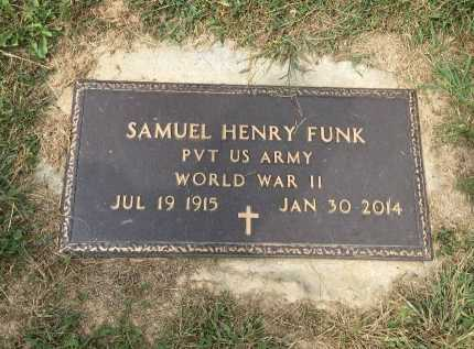 FUNK, SAMUEL HENRY - Rockingham County, Virginia   SAMUEL HENRY FUNK - Virginia Gravestone Photos