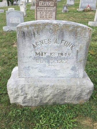 FUNK, AGNES ANN - Rockingham County, Virginia | AGNES ANN FUNK - Virginia Gravestone Photos