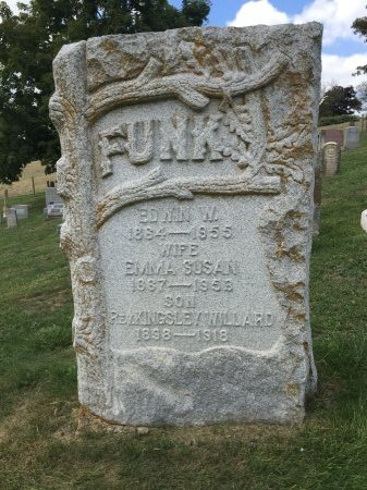 FUNK, EDWIN WELLONS - Rockingham County, Virginia | EDWIN WELLONS FUNK - Virginia Gravestone Photos
