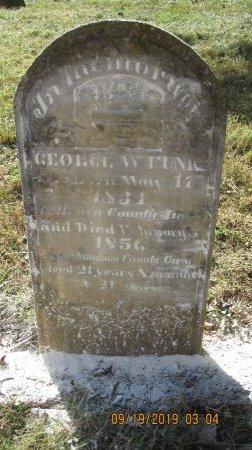 FUNK, GEORGE W. - Rockingham County, Virginia   GEORGE W. FUNK - Virginia Gravestone Photos