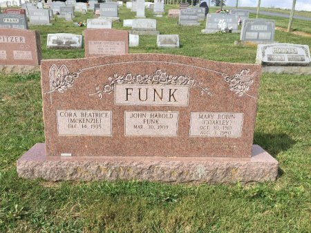 FUNK, CORA BEATRICE - Rockingham County, Virginia | CORA BEATRICE FUNK - Virginia Gravestone Photos