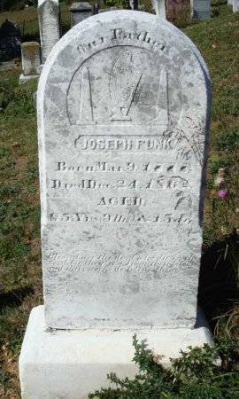 FUNK, JOSEPH - Rockingham County, Virginia | JOSEPH FUNK - Virginia Gravestone Photos