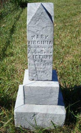 FUNK, MARY VIRGINIA - Rockingham County, Virginia   MARY VIRGINIA FUNK - Virginia Gravestone Photos