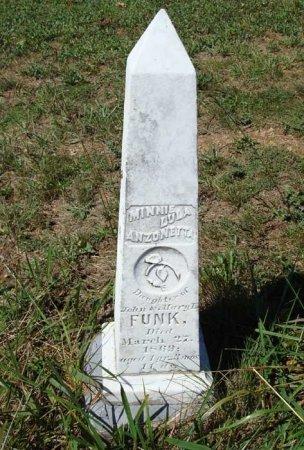 FUNK, MINNIE LULA ARZONETTA - Rockingham County, Virginia | MINNIE LULA ARZONETTA FUNK - Virginia Gravestone Photos