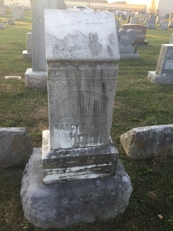"FUNK, NANCY E. ""NANNIE"" - Rockingham County, Virginia | NANCY E. ""NANNIE"" FUNK - Virginia Gravestone Photos"