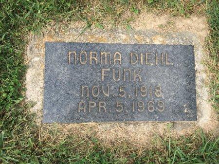 FUNK, NORMA VIRGINIA HOPE - Rockingham County, Virginia   NORMA VIRGINIA HOPE FUNK - Virginia Gravestone Photos