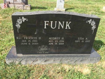 FUNK, AUDREY JEAN - Rockingham County, Virginia | AUDREY JEAN FUNK - Virginia Gravestone Photos