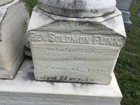 FUNK, SOLOMON REV. - Rockingham County, Virginia | SOLOMON REV. FUNK - Virginia Gravestone Photos
