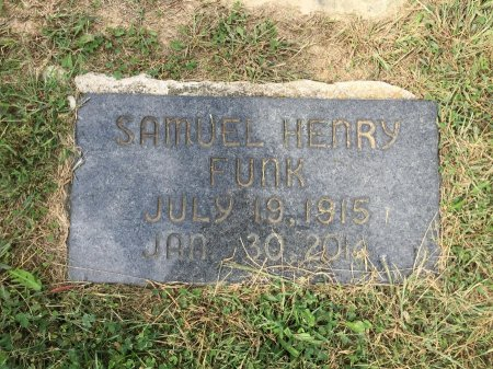 FUNK, SAMUEL HENRY - Rockingham County, Virginia | SAMUEL HENRY FUNK - Virginia Gravestone Photos