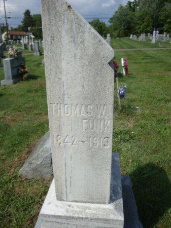 FUNK, THOMAS WYATT - Rockingham County, Virginia   THOMAS WYATT FUNK - Virginia Gravestone Photos