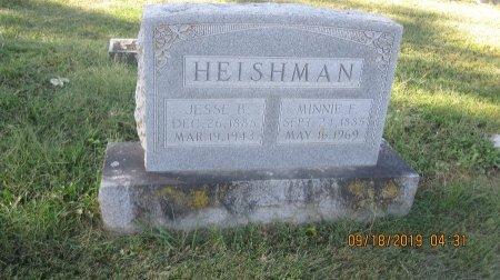 BRUNK HEISHMAN, MINNIE FRANCES - Rockingham County, Virginia   MINNIE FRANCES BRUNK HEISHMAN - Virginia Gravestone Photos