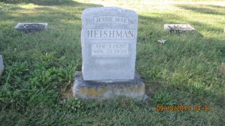 HEISHMAN, JESSIE MAE - Rockingham County, Virginia | JESSIE MAE HEISHMAN - Virginia Gravestone Photos