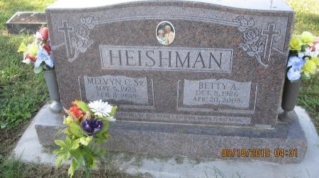 "HEISHMAN, SR., MELVYN CROCKETT ""BUD"" (DAY) - Rockingham County, Virginia 