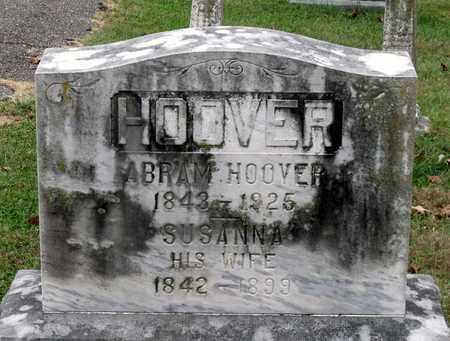 HOOVER, SUSANNA - Rockingham County, Virginia | SUSANNA HOOVER - Virginia Gravestone Photos