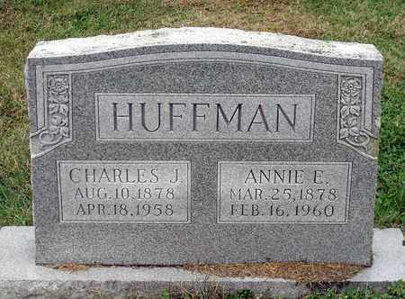 HUFFMAN, ANNIE E. - Rockingham County, Virginia | ANNIE E. HUFFMAN - Virginia Gravestone Photos