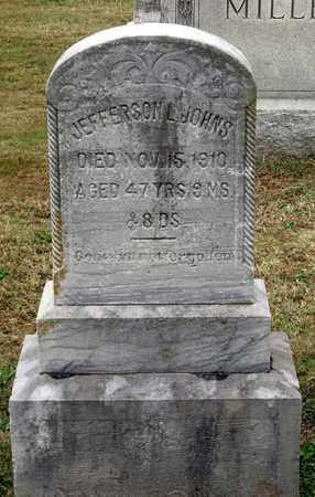JOHNS, JEFFERSON L. - Rockingham County, Virginia | JEFFERSON L. JOHNS - Virginia Gravestone Photos