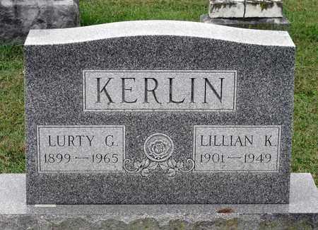 KERLIN, LURTY G. - Rockingham County, Virginia | LURTY G. KERLIN - Virginia Gravestone Photos