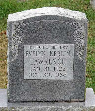 LAWRENCE, EVELYN - Rockingham County, Virginia | EVELYN LAWRENCE - Virginia Gravestone Photos