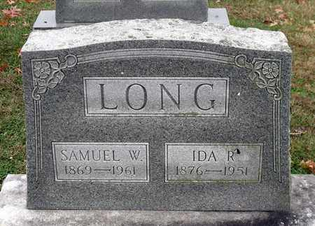 LONG, SAMUEL D. - Rockingham County, Virginia | SAMUEL D. LONG - Virginia Gravestone Photos
