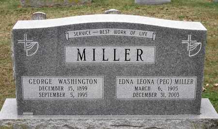 MILLER, GEORGE WASHINGTON - Rockingham County, Virginia | GEORGE WASHINGTON MILLER - Virginia Gravestone Photos