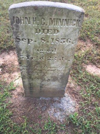 MINNICK, JOHN HAMILTON C. - Rockingham County, Virginia   JOHN HAMILTON C. MINNICK - Virginia Gravestone Photos