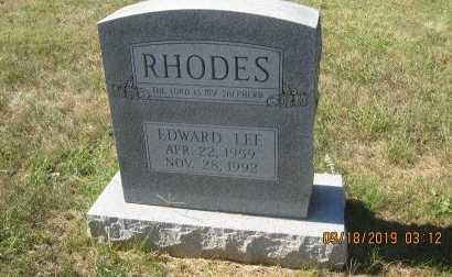 RHODES, EDWARD LEE - Rockingham County, Virginia | EDWARD LEE RHODES - Virginia Gravestone Photos