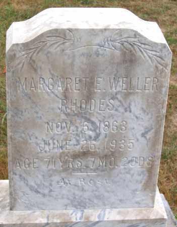 RHODES, MARGARET E. - Rockingham County, Virginia | MARGARET E. RHODES - Virginia Gravestone Photos