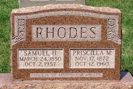 RHODES, SAMUEL H. - Rockingham County, Virginia | SAMUEL H. RHODES - Virginia Gravestone Photos