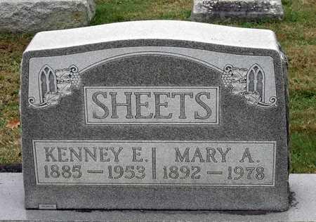 SHEETS, KENNEY E. - Rockingham County, Virginia   KENNEY E. SHEETS - Virginia Gravestone Photos