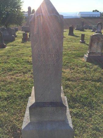 "SKELTON, SARAH JANE ""SALLIE"" - Rockingham County, Virginia   SARAH JANE ""SALLIE"" SKELTON - Virginia Gravestone Photos"