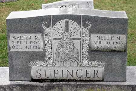 SUPINGER, WALTER M. - Rockingham County, Virginia | WALTER M. SUPINGER - Virginia Gravestone Photos