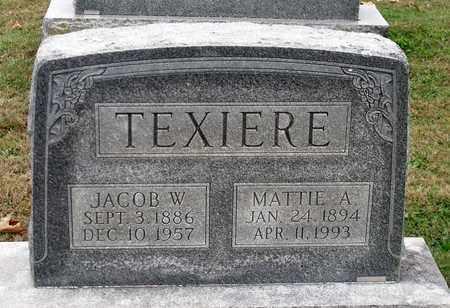 TEXIERE, MATTIE A. - Rockingham County, Virginia | MATTIE A. TEXIERE - Virginia Gravestone Photos