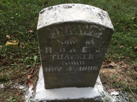 THACKER, INFANT SON - Rockingham County, Virginia | INFANT SON THACKER - Virginia Gravestone Photos