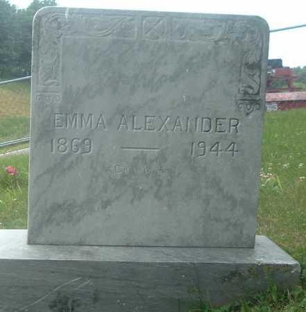 ALEXANDER, EMMA - Russell County, Virginia | EMMA ALEXANDER - Virginia Gravestone Photos