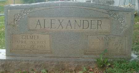ALEXANDER, NANNIE - Russell County, Virginia | NANNIE ALEXANDER - Virginia Gravestone Photos