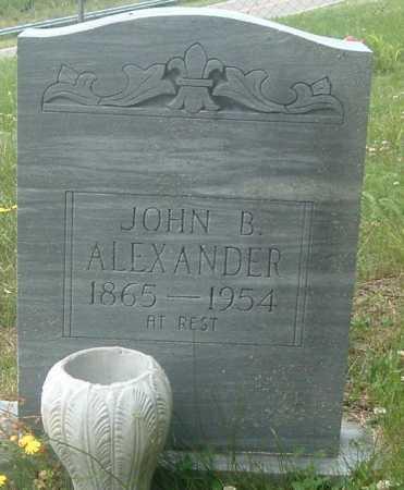 ALEXANDER, JOHN B - Russell County, Virginia | JOHN B ALEXANDER - Virginia Gravestone Photos