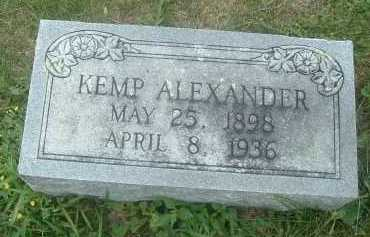 ALEXANDER, KEMP - Russell County, Virginia | KEMP ALEXANDER - Virginia Gravestone Photos