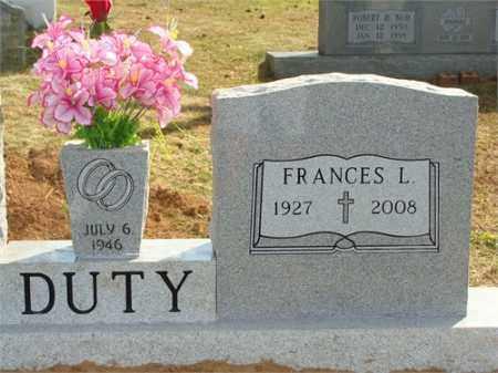 GIBSON DUTY, FRANCES LORENE - Russell County, Virginia   FRANCES LORENE GIBSON DUTY - Virginia Gravestone Photos