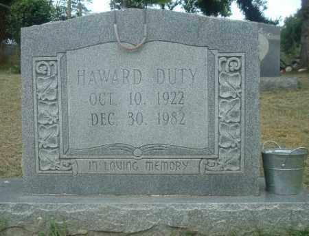 DUTY, HOWARD - Russell County, Virginia | HOWARD DUTY - Virginia Gravestone Photos