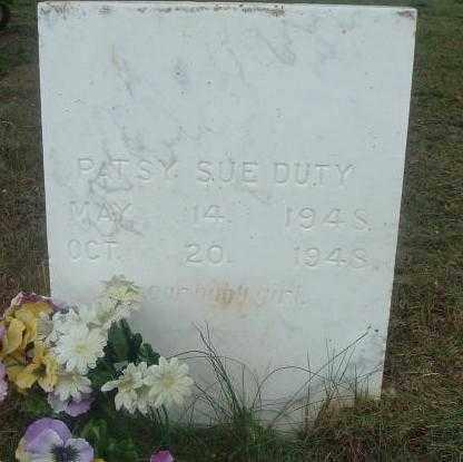 DUTY, PATSY SUE - Russell County, Virginia | PATSY SUE DUTY - Virginia Gravestone Photos