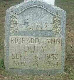 DUTY, RICHARD LYNN - Russell County, Virginia   RICHARD LYNN DUTY - Virginia Gravestone Photos