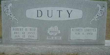 "DUTY, ROBERT H ""BUD"" - Russell County, Virginia | ROBERT H ""BUD"" DUTY - Virginia Gravestone Photos"