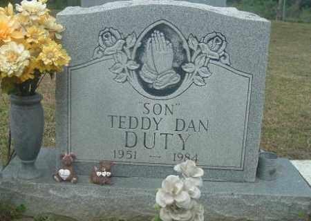 DUTY, TEDDY DANIEL - Russell County, Virginia   TEDDY DANIEL DUTY - Virginia Gravestone Photos