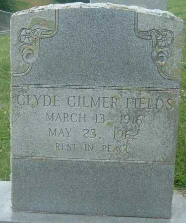FIELDS, CLYDE GILMER - Russell County, Virginia   CLYDE GILMER FIELDS - Virginia Gravestone Photos