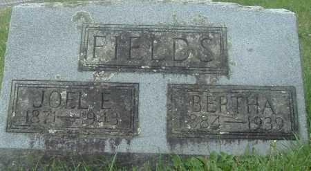 FIELDS, JOEL E - Russell County, Virginia   JOEL E FIELDS - Virginia Gravestone Photos