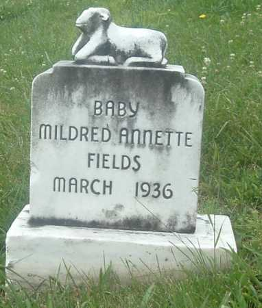 FIELDS, MILDRED ANNETTE - Russell County, Virginia | MILDRED ANNETTE FIELDS - Virginia Gravestone Photos