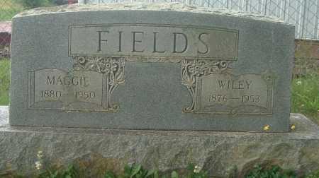 FIELDS, WILEY - Russell County, Virginia | WILEY FIELDS - Virginia Gravestone Photos