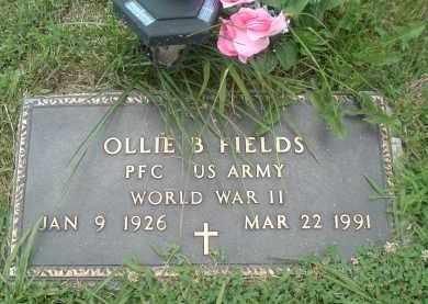 FIELDS, OLLIE - Russell County, Virginia   OLLIE FIELDS - Virginia Gravestone Photos